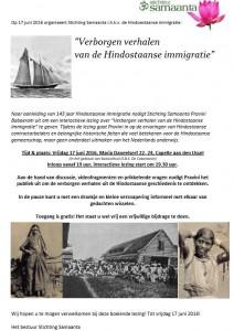 Immigratie Flyer