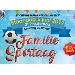 5 juni 2017  2e Pinksterdag Familie Sportdag