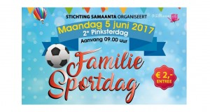 5 juni 2017| 2e Pinksterdag Familie Sportdag