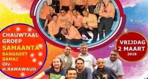 2 maart 2018 Samaanta Chautaal bij Tropical