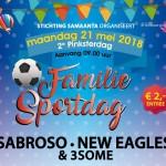 21 mei 2018| Familie Sportdag 2e Pinksterdag