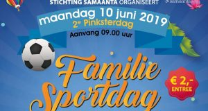 10 juni 2019 | 2e Pinksterdag Familie Sportdag Samaanta